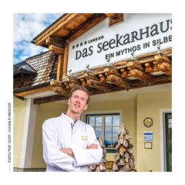 Hotel Das Seekarhaus-Küchenchef Harald Rindler.