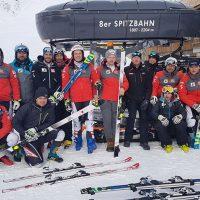 OESV Speed-Team beim Training in Obertauern