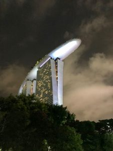 "Singapurs ""Aushängeschild Nummer 1"": Das Marina Bay Sands."